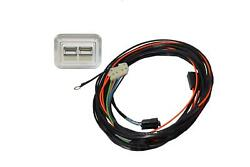 1968-1972 El Camino Front Doors Power Window Kit With Nostalgic Switches Console
