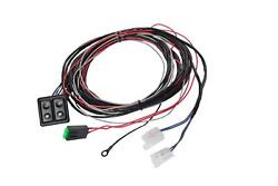 1968-1972 Gm El Camino Front Door Power Window Kit With Black Switches Console