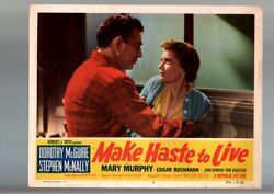 Make Haste To Live-1954-dorothy Mcguire-lobby Card Fn/vf