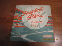 1953 Baseball Stars Bread For Life Energy 23 Labels And Album And Nellie Fox