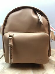 Skip Hop Leather Baby Diaper Bag Backpack w Changing Pad Greenwich Simply Chic