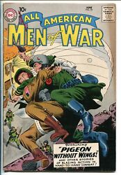 All-american Men Of War 70-1959-wwii-dc-silver Age-paratrooper-vf Minus