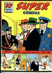 Super 46 1942-dell-chester Gould-dick Tracy-moon Mullins-sky Ranger-vg
