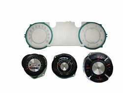 64-65 Chevelle And El Camino Gauges Tachometer Speedometer And Lens Set
