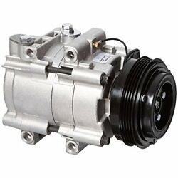 Four Seasons 58190 New AC Compressor with Specific Electrical Connector