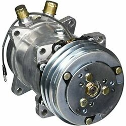 Four Seasons 58033 New AC Compressor with Specific Electrical Connector