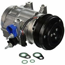 Four Seasons 68192 AC Compressor with Clutch and Specific Electrical Connector