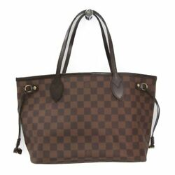 Louis Vuitton Damier Neverfull PM N51109 Women's Tote Bag Ebene BF319849