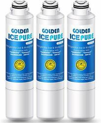 3-pack Water Filter For Samsung Rs261mdrs Rsg307aars Rfg298hdrs Rs265tdbp