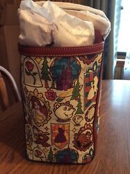 NWT Disney Beauty and the Beast Dooney & Bourke Large Tote never used