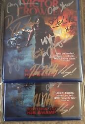Victor Crowley Autographed Bluray Hatchet Signed Kane Hodder Horror Movie Film