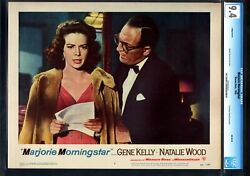 Marjorie Morningstar-1958-natalie Wood-gene Kelly-nm-cgc 9.4 Lobby Card Nm