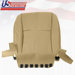 Driver Bottom Replacement Seat Cover Perforated Leather For 06 Toyota Highlander $160.20