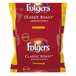 Folgers Classic Roast 2pkx40=80pk Ground Coffee Filters Big Family Value Pack