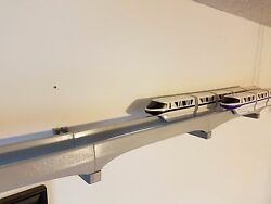 Double Track Wall Bracket For Mounting Disney Monorail Track To A Wall