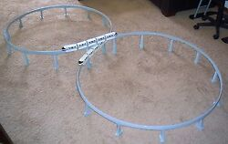 Tall Graduated Support Columns For Disney Toy Monorail Track Makes Figure 8 Pier