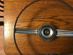 65/66 Horn Ring And Center Button