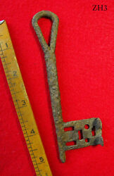Clearance Extra Rare Large 11th-12th C. Viking Norman Iron Ancient Skeleton Key