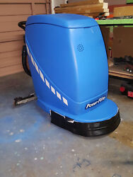Predator Auto-Scrubber PAS20 with Battery Charger & Custom LoaderTransporter