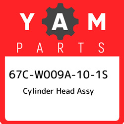 67c-w009a-10-1s Yamaha Cylinder Head Assy 67cw009a101s, New Genuine Oem Part