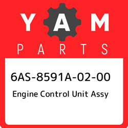 6as-8591a-02-00 Yamaha Engine Control Unit Assy 6as8591a0200 New Genuine Oem Pa