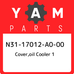 N31-17012-a0-00 Yamaha Coveroil Cooler 1 N3117012a000 New Genuine Oem Part