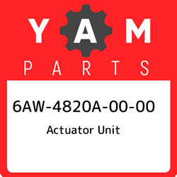 6aw-4820a-00-00 Yamaha Actuator Unit 6aw4820a0000 New Genuine Oem Part
