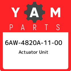 6aw-4820a-11-00 Yamaha Actuator Unit 6aw4820a1100 New Genuine Oem Part