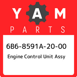 6b6-8591a-20-00 Yamaha Engine Control Unit Assy 6b68591a2000 New Genuine Oem Pa