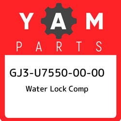 Gj3-u7550-00-00 Yamaha Water Lock Comp Gj3u75500000 New Genuine Oem Part