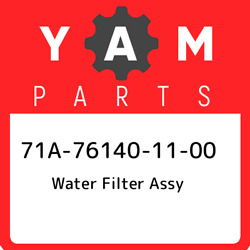 71a-76140-11-00 Yamaha Water Filter Assy 71a761401100, New Genuine Oem Part