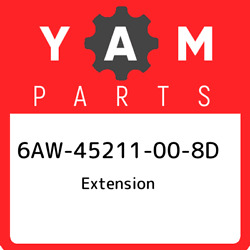 6aw-45211-00-8d Yamaha Extension 6aw45211008d, New Genuine Oem Part