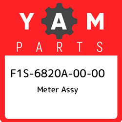 F1s-6820a-00-00 Yamaha Meter Assy F1s6820a0000, New Genuine Oem Part