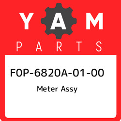 F0p-6820a-01-00 Yamaha Meter Assy F0p6820a0100, New Genuine Oem Part