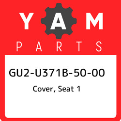 Gu2-u371b-50-00 Yamaha Cover Seat 1 Gu2u371b5000 New Genuine Oem Part