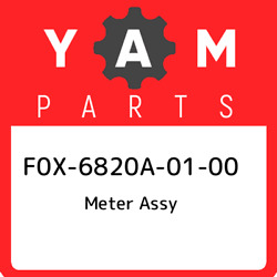 F0x-6820a-01-00 Yamaha Meter Assy F0x6820a0100 New Genuine Oem Part