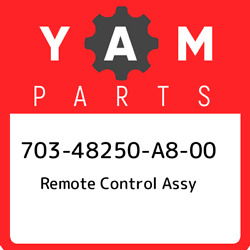 703-48250-a8-00 Yamaha Remote Control Assy 70348250a800 New Genuine Oem Part