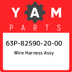 63p-82590-20-00 Yamaha Wire Harness Assy 63p825902000 New Genuine Oem Part