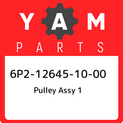 6p2-12645-10-00 Yamaha Pulley Assy 1 6p2126451000 New Genuine Oem Part
