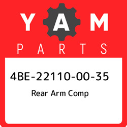 4be-22110-00-35 Yamaha Rear Arm Comp 4be221100035 New Genuine Oem Part