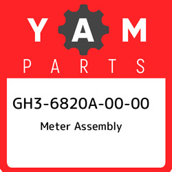 Gh3-6820a-00-00 Yamaha Meter Assembly Gh36820a0000 New Genuine Oem Part