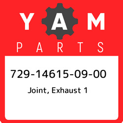 729-14615-09-00 Yamaha Joint Exhaust 1 729146150900 New Genuine Oem Part