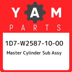 1d7-w2587-10-00 Yamaha Master Cylinder Sub Assy 1d7w25871000 New Genuine Oem Pa