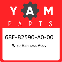 68f-82590-a0-00 Yamaha Wire Harness Assy 68f82590a000 New Genuine Oem Part