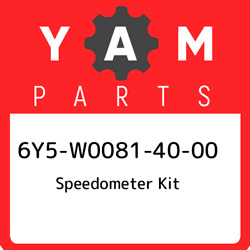 6y5-w0081-40-00 Yamaha Speedometer Kit 6y5w00814000 New Genuine Oem Part