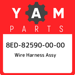 8ed-82590-00-00 Yamaha Wire Harness Assy 8ed825900000 New Genuine Oem Part