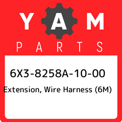 6x3-8258a-10-00 Yamaha Extension, Wire Harness 6m 6x38258a1000, New Genuine Oe