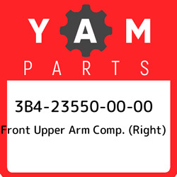 3b4-23550-00-00 Yamaha Front Upper Arm Comp. Right 3b4235500000 New Genuine O