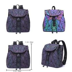 Geometric Luminous Purse And Handbag For Women Crossbody Bags Backpack Childrens