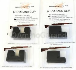 4-pack M1 Garand 2 And 5 Round Clips For Hunting Nm Match 2rd 5rd Rd Clip Part